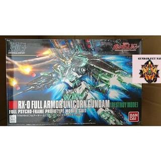 Mô hình đồ chơi gundam RX-0 FULL ARMOR UNICORN GUNDAM (Destroy mode)