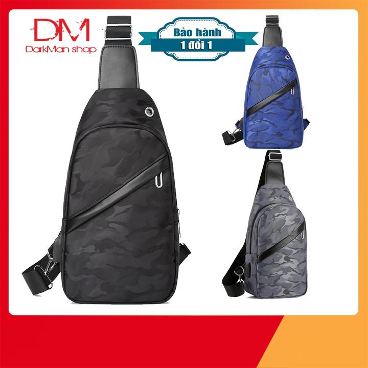 [ TẶNG CAB USB ] Túi đeo chéo nam chống nước style Hàn Quốc TUI002