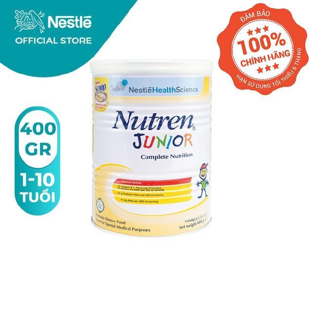 Sữa Bột Nutren Junior 400g Hương Vani