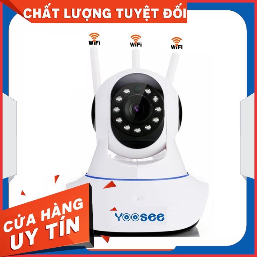 Camera IP YooSee Siêu Nét Chuẩn Full HD1080P - 3 Anten cao cấp - [Nhập ELCA07 giảm đến
