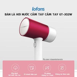 Bàn là hơi nước Xiaomi cầm tay, bàn ủi hơi nước Xiaomi, bàn là cầm tay LoFans GT-302w