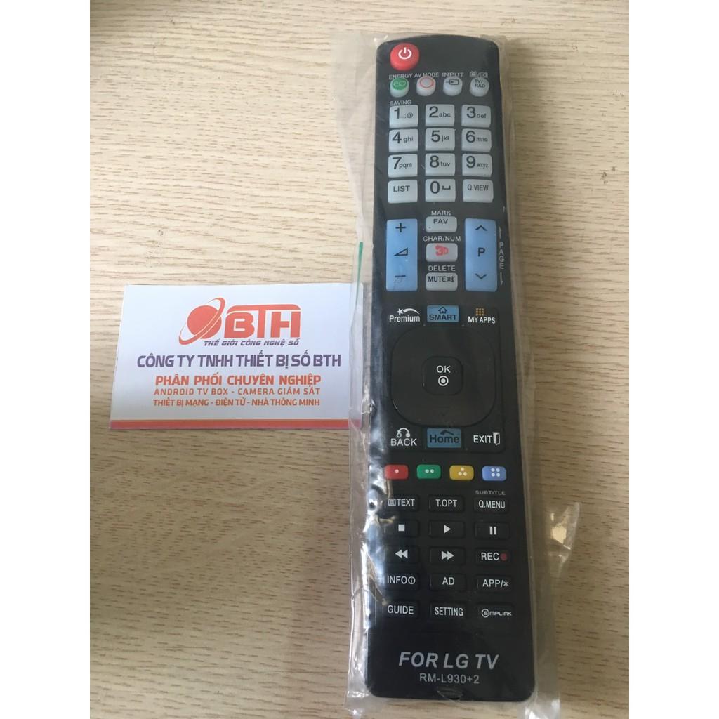Điều khiển tivi LG, Smart LG 930+ - Remote dùng cho tivi Led, smart tivi LG.