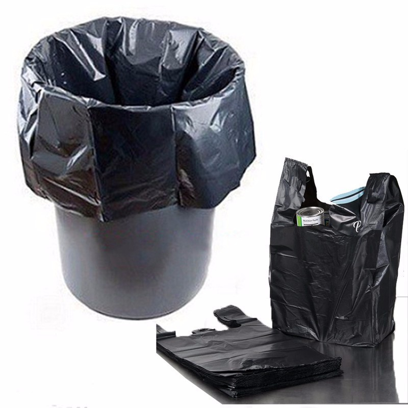 [CÓ SẴN]  1kg túi bóng đen đựng rác,túi nilon đen gói hàng - RẺ NHẤT HÀ NỘI