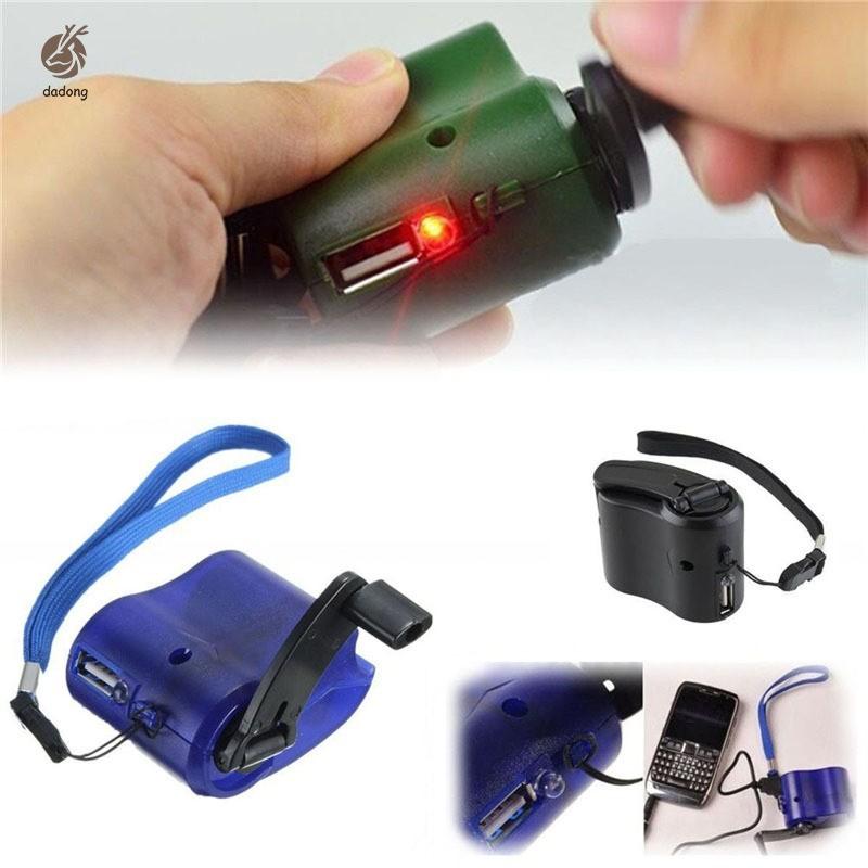 Sạc USB tiện lợi dùng cho các hoạt động ngoài trời