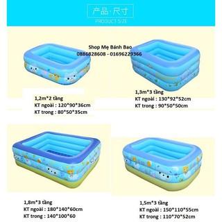 Xả hàng giá sốc: bể bơi phao cho bé