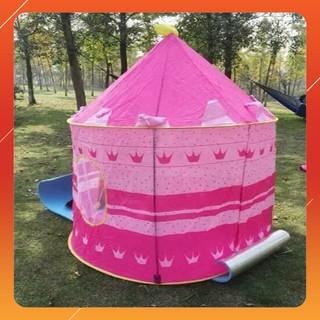Lều công chúa hoàng tử hình dáng lâu đài cho bé trai , bé gái thumbnail