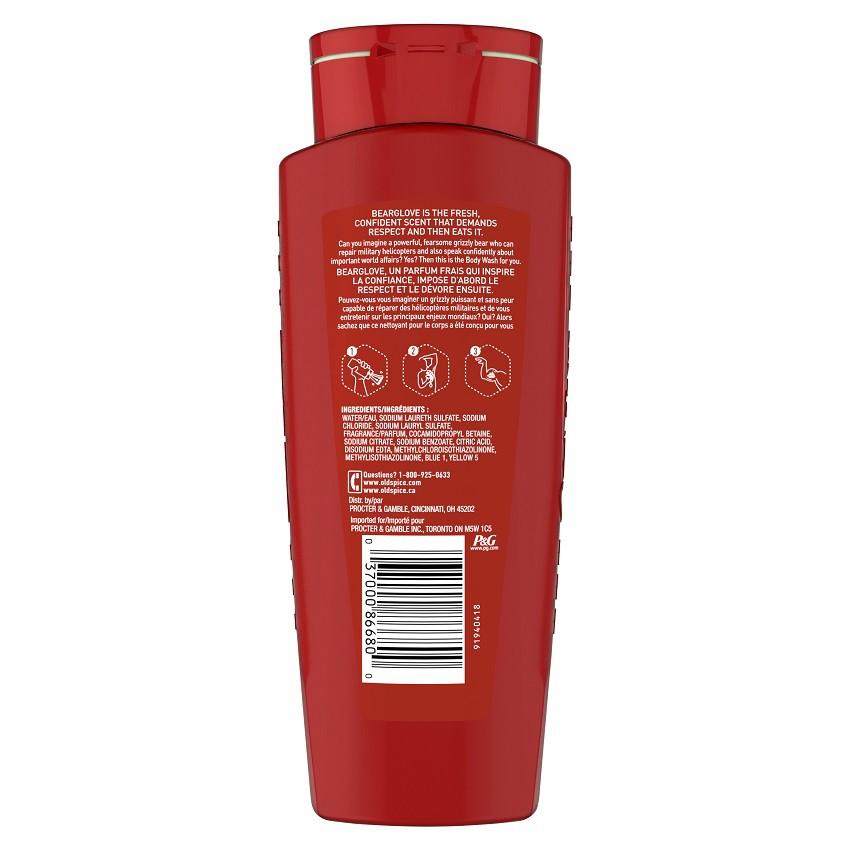 [Chính hãng] Sữa Tắm Gội Toàn Thân Cho Nam Old Spice Hair & Body Wash 532ml [Hàng Auth ]