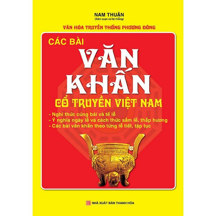 Sách - Các bài văn khấn cổ truyền Việt Nam