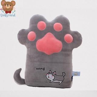 Gấu Bông Bàn Chân Mèo Siêu Dễ Thương Size 50CM Màu Xám - Diabrand