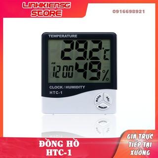 Đồng hồ điện tử đo độ ẩm nhiệt độ HTC-1