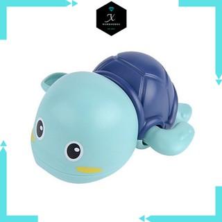 Đồ chơi rùa vặn dây cót trong bể tắm cho bé (giao màu ngẫu nhiên) thumbnail