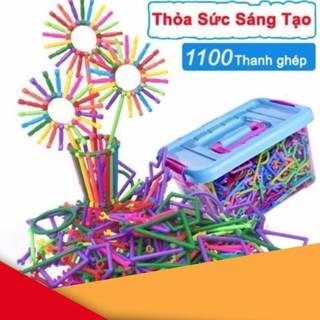 Bộ lắp ghép đồ chơi sáng tạo (1100 Thanh ghép) | TẠI CẦU GIẤY