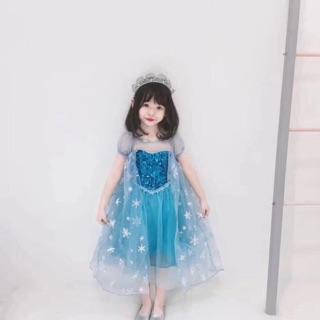 Váy công chúa elsa (kèm ảnh thật)