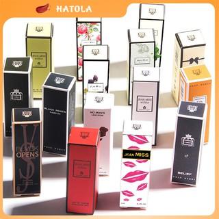 Nước hoa mini bỏ túi hương thơm nhẹ nhàng quyến rũ đủ các mùi nổi tiếng HATOLA thumbnail