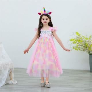 Đầm hóa trang nàng tiên cá cho bé gái