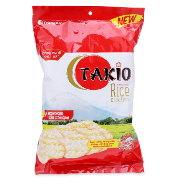 Bánh gạo ngọt Takio Tràng An 130g