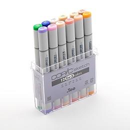 Bộ 12 màu bút marker Copic Sketch Set Ex-3 - 9935474 , 968759872 , 322_968759872 , 1150000 , Bo-12-mau-but-marker-Copic-Sketch-Set-Ex-3-322_968759872 , shopee.vn , Bộ 12 màu bút marker Copic Sketch Set Ex-3