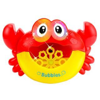 【OMB】Funny Music Crab Bubble Blower Machine Automatic Crab Bubble Maker Kids Bath