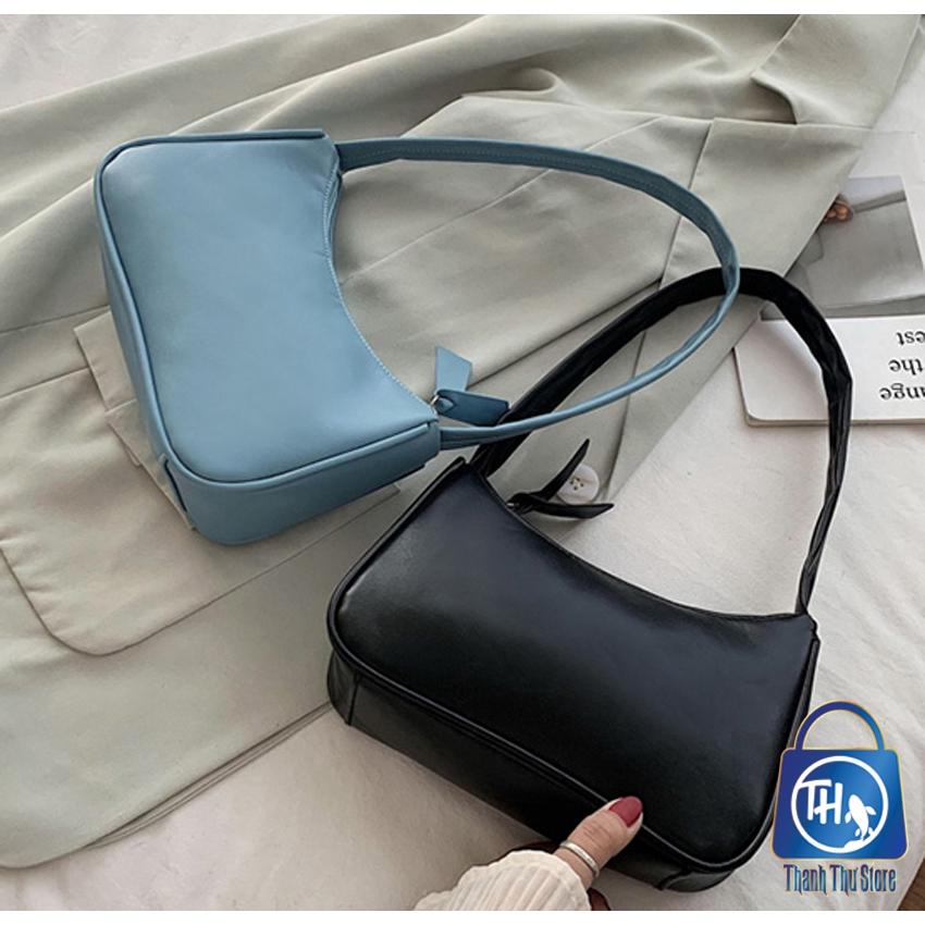 Túi đeo vai nữ, kẹp nách da mềm trơn siêu xinh BH 433