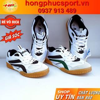 Giày cầu lông Asia, giày bóng chuyền Asia MCS02 trắng dùng cho các hoạt động thể thao chạy bộ, thể dục, dã ngoại