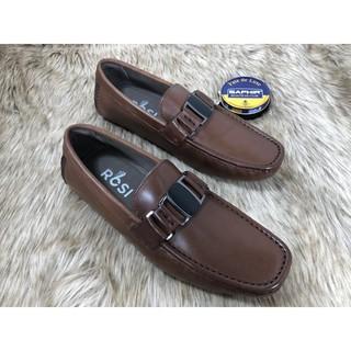 Giày Da Nam Cao Cấp GS60 Nâu