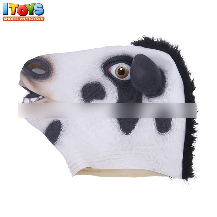 Mặt nạ đầu Bò - mặt nạ hóa trang thành Bò - Đồ hóa trang con Bò ITOYS - [...