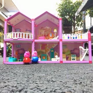 [Nhập mã TOYAUG hoàn 10% tối đa 15K xu cho đơn từ 99K]Mô Hình Nhà Búp Bê Cỡ Lớn Đồ Chơi Barbie Cho Bé