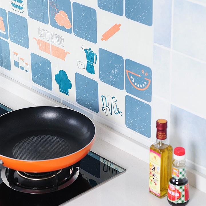 Miếng Giấy Dán Nhà Bếp Cách Nhiệt Chống Dầu Mỡ - Decal Dán Bếp (75x45cm) 2459 Tiện Ích Việt Nam 99
