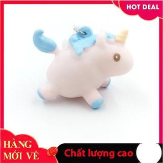 Đồ chơi trong phòng Ngựa thần bóp bóng lười hạt nở unicorn bóp slime squishy toy CKOSGV