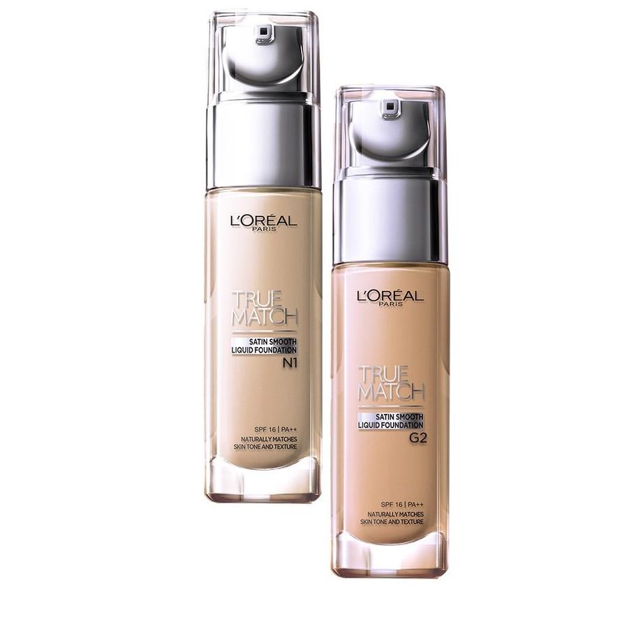 Kết quả hình ảnh cho Kem Nền L'Oreal True Match Liquid G2