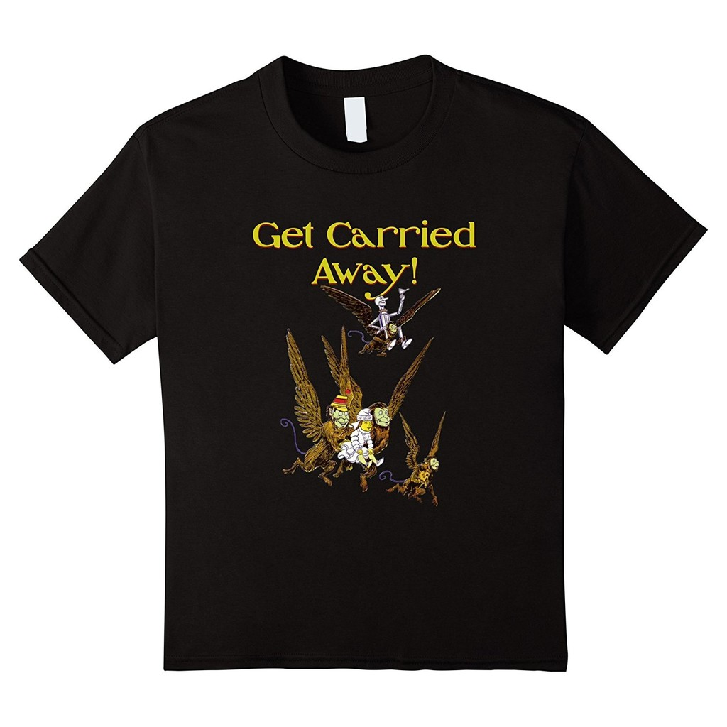 Men'S Get Carried Away Wizard Of Oz Flying Monkeys T Shirt Father's Day Gift