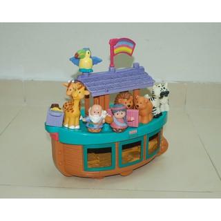 95% Đồ chơi Tàu Noah Ark's 02 – Fisher-Price Little People