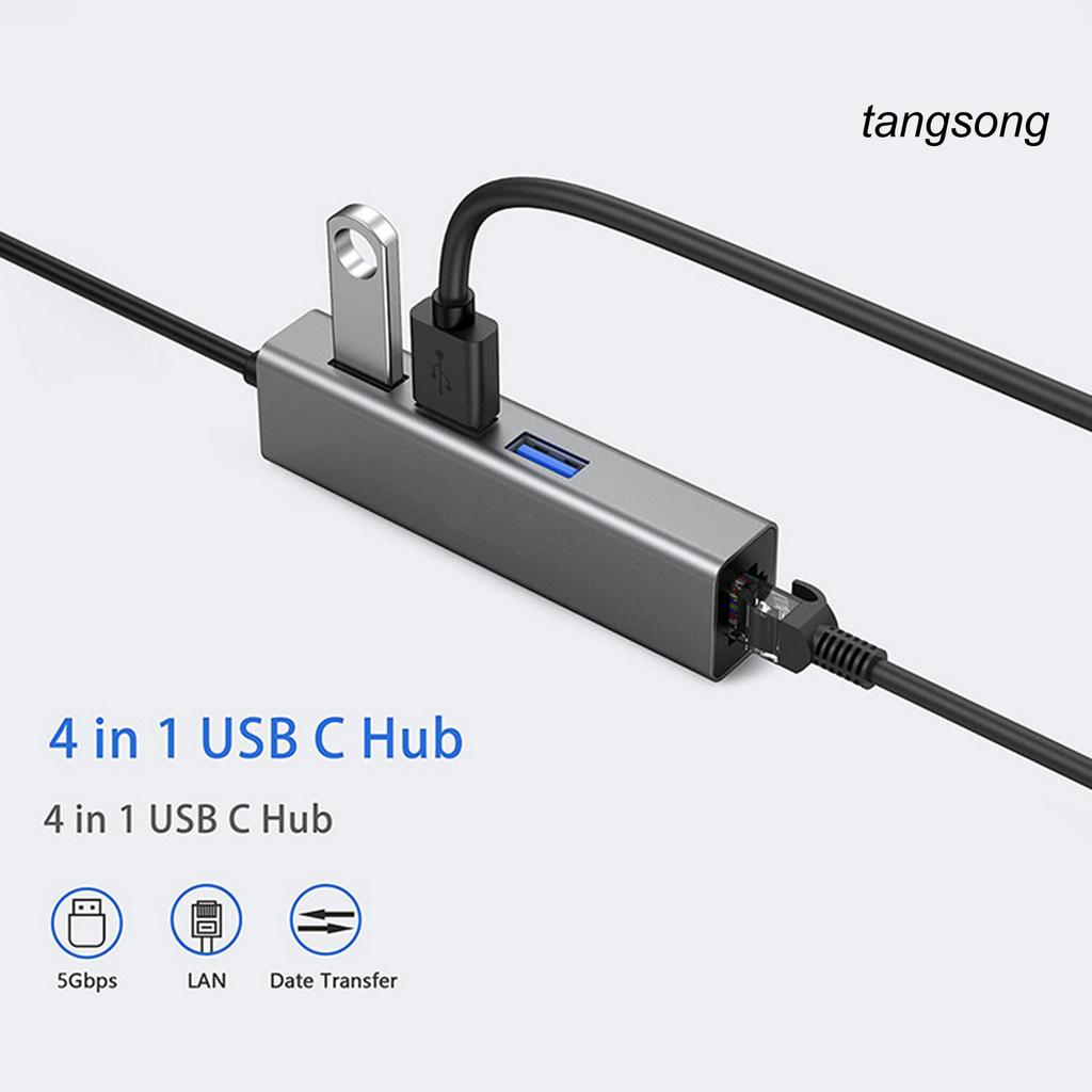 Hub Ts-Usb3.0 4 Trong 1 Cổng Usb Cho Máy Tính