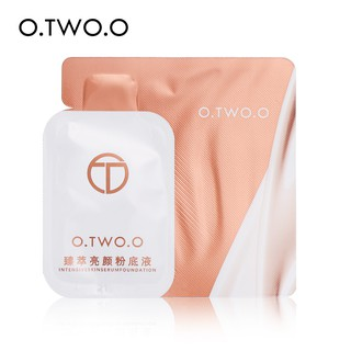 O.TWO.O Foundation Face Makeup Full Cover Cosmetics Travel Outfit Portable 4 Colors 5g