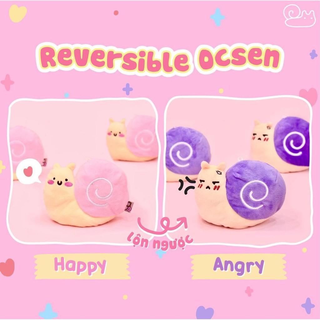 Reversible Ocsen - Ốc Sên cảm xúc do Ốc Sên Shop tự thiết kế kèm tem chính hãng
