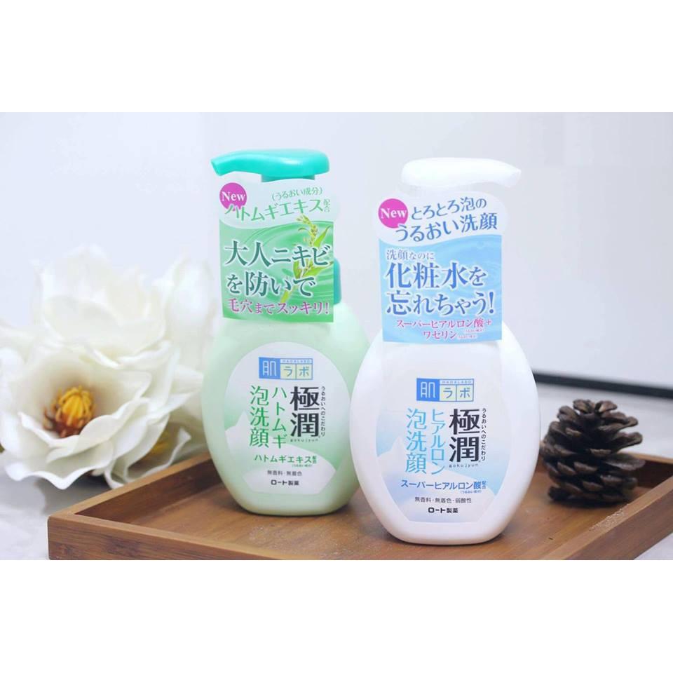 20% GIẢM Sữa rửa mặt tạo bọt Hadalabo 160ml ngăn ngừa mụn hàng Nhật chính hãng - 3114063 , 1160902690 , 322_1160902690 , 138000 , 20Phan-Tram-GIAM-Sua-rua-mat-tao-bot-Hadalabo-160ml-ngan-ngua-mun-hang-Nhat-chinh-hang-322_1160902690 , shopee.vn , 20% GIẢM Sữa rửa mặt tạo bọt Hadalabo 160ml ngăn ngừa mụn hàng Nhật chính hãng
