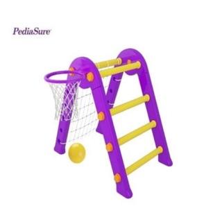 Bộ đồ chơi vận động đa năng pediasure( neo núi- bóng rổ- bóng đá)