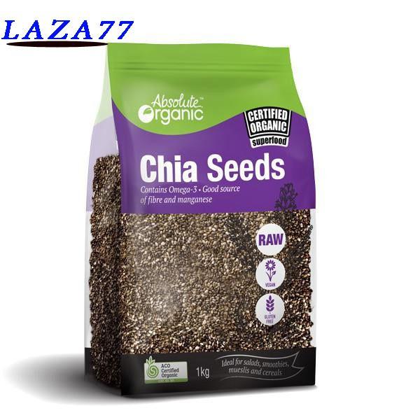 [FREE SHIP 99K] Hạt Chia Organic chia seeds Australia 1kg