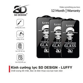 Kính cường lực iPhone Full Màn SD DESIGN Luffy ip 6 6s plus 7 7plus 8 8plus x xr xs max 11 11 pro 11 promax 12 12 promax thumbnail