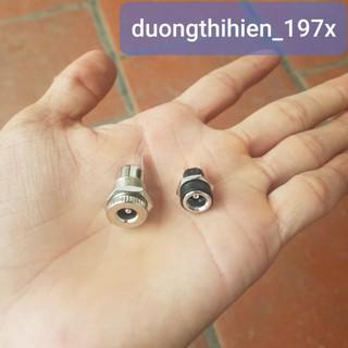 Jack nguồn DC 5,5x2,1mm có đai ốc