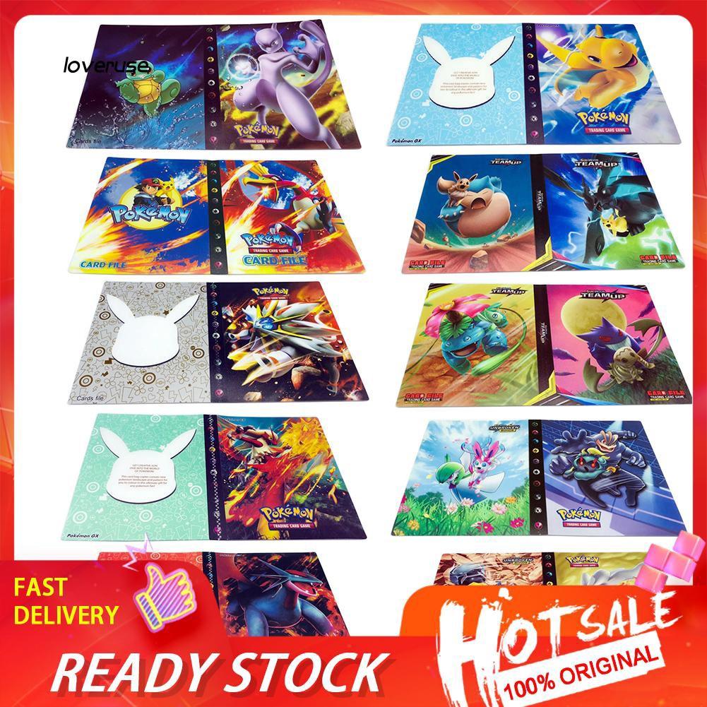 Set 240 tấm thẻ hình pokemon sử dụng làm bộ sưu tập DIY