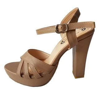 Giày Sandal Cao Gót Nữ BIGBEN Cao Cấp GCG40