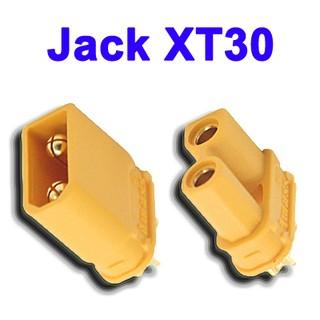 (SG) – Jack cắm XT30 cho ESC / Pin Lipo / PDB