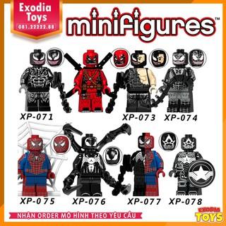 Bộ 8 minifigure siêu anh hùng Venom – KT1010