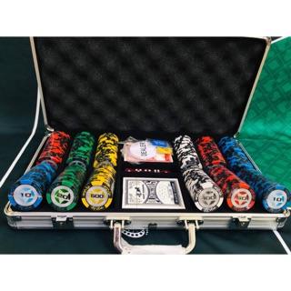 Bộ Phỉnh Poker Wsops Stats 300 Chip Hàng Cao Cấp