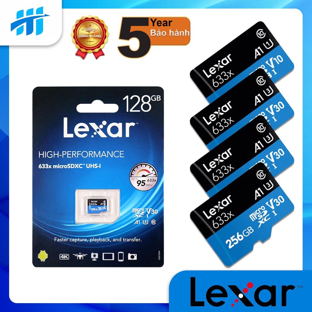 Thẻ nhớ MicroSD Lexar Class 10 U3 633x 95MB - Hàng phân phối chính hãng