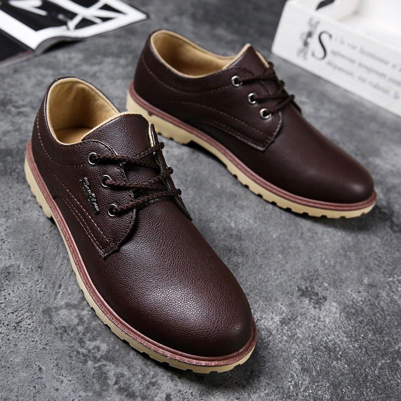 Giày Da nam Thời Trang Cao Cấp Alami GD02