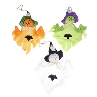 SUN11❤ Ghost hanging Halloween bar diy decoration dolls festival party toys