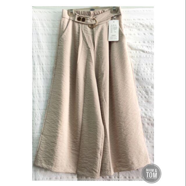Quần culottes linen
