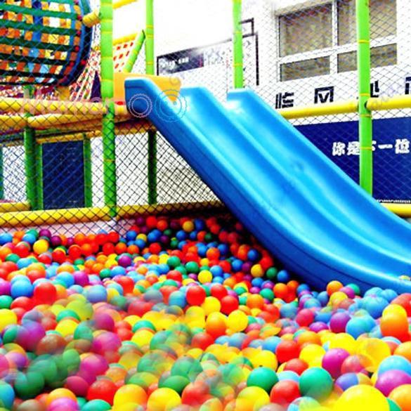 10pcs 8cm Soft Plastic Ocean Ball Colorful Ball Fun Ball Kids Swim Pit Toys